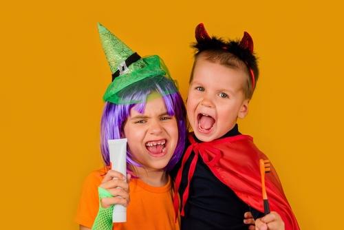 Healthy Teeth at Halloween